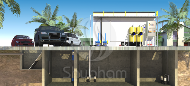 Supplier of Below Ground Waste Water Treatment from Ahmedabad,Gujarat,India