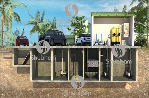 Underground Sewage Treatment Plant (STP) For Hotel